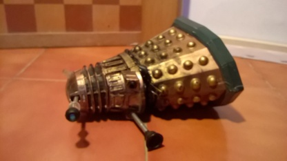 Destroyed Time War Dalek