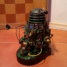 A custom Dalek Scavenger made from spare parts of other Daleks