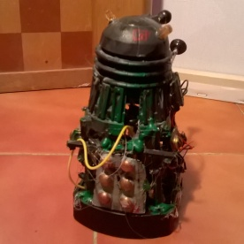 A Dalek Scavenger custom seen from behind