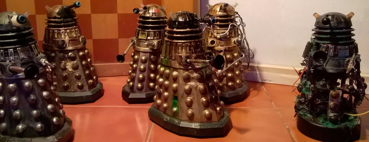 New Series Dalek Customs Collection Tour – Dalek AsylumInmates