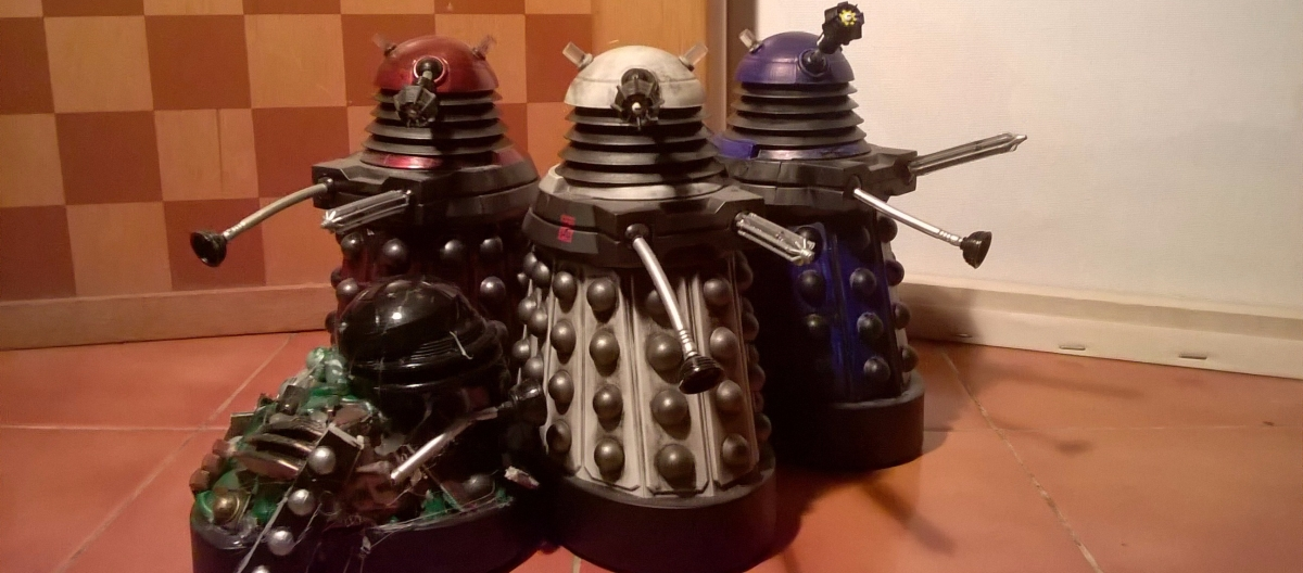 New Series Dalek Customs Collection Tour – Other Dalek Asylum Inmates
