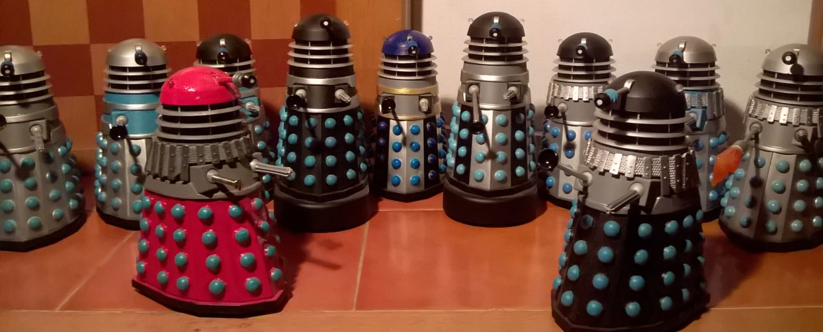 Classic Series Daleks Customs Collection Tour – 1960s era Daleks