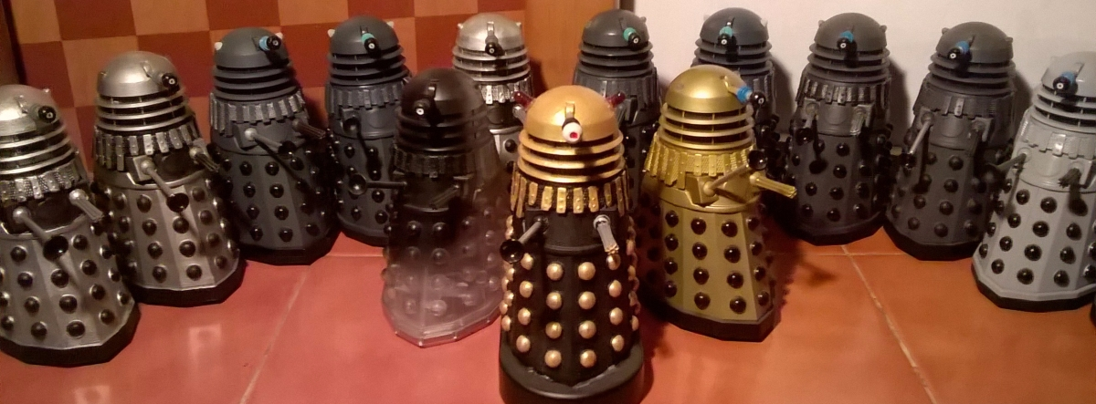Classic Series Dalek Customs Collection Tour – 1970s era Daleks