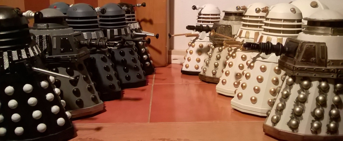 Classic Series Dalek Customs Collection Tour - 1980s era Daleks