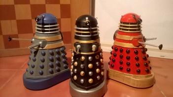 Classic Daleks in 60s Movie Colours
