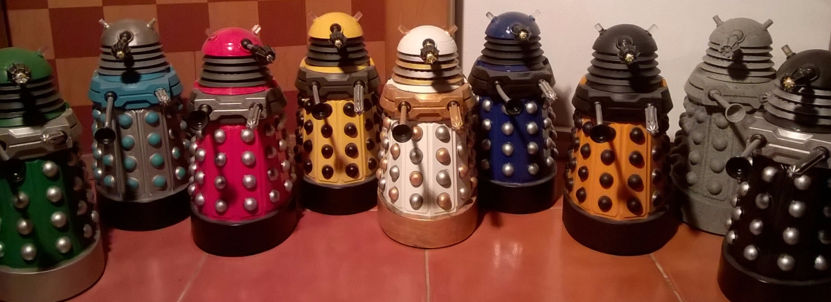 New Series Dalek Customs Collection Tour – New Series Paradigm Dalek Customs