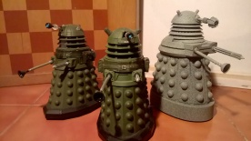 Ironsides and Stone Dalek