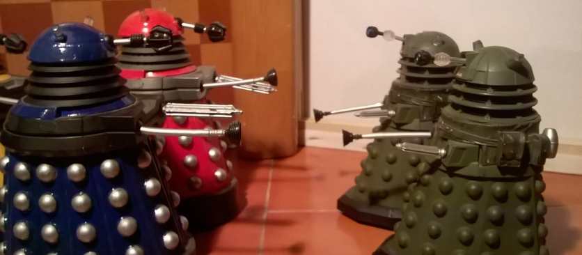 Paradigm Daleks vs Ironsides