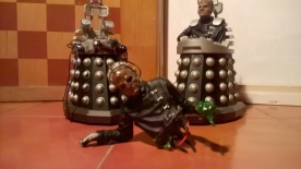 Davros out of his chair