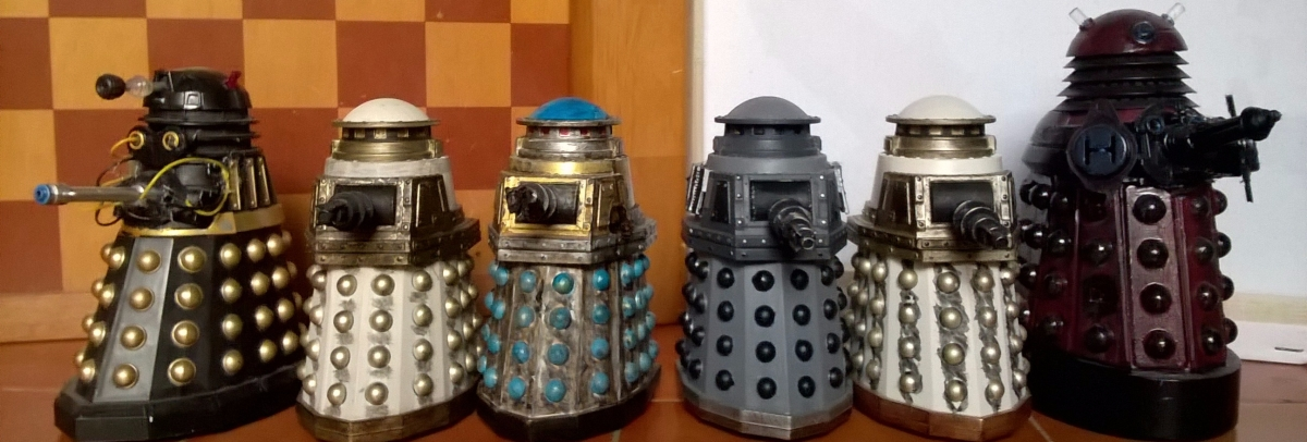 Classic and New Series Dalek Customs Collection Tour - Special Weapons Daleks REVISITED