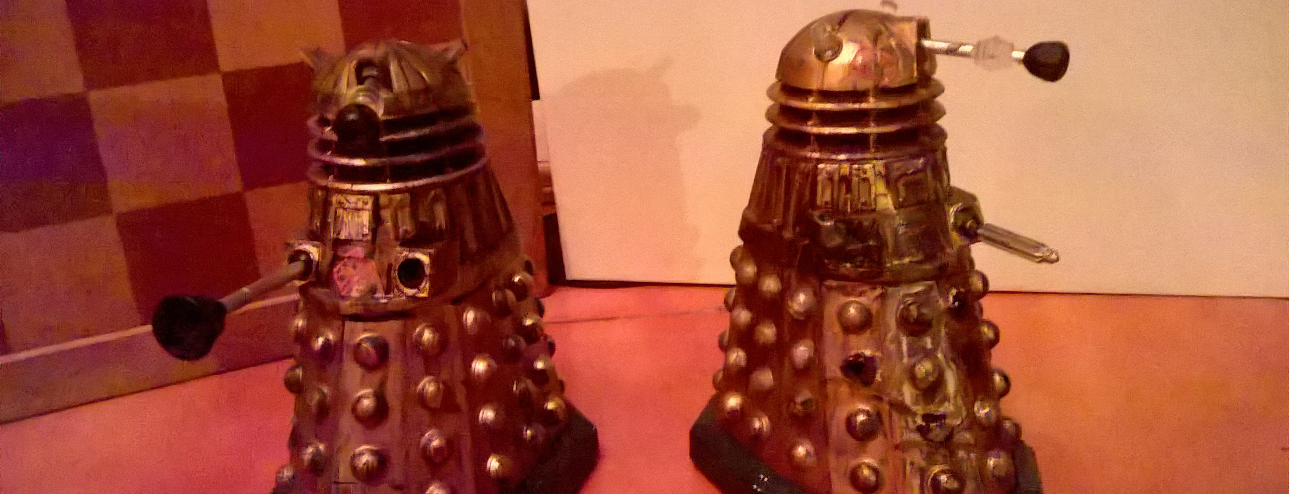 Screen-Accurate Asylum Daleks