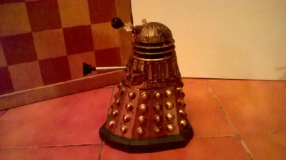 Plunger Dalek - Left Side
