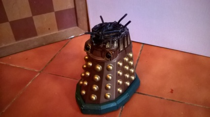 Custom Destroyed Dalek Thay 2 Side