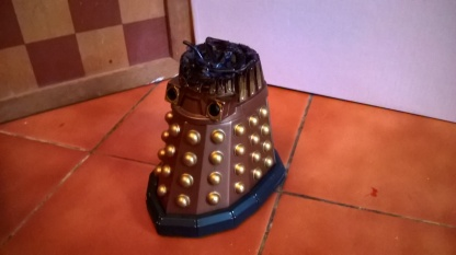 Custom Destroyed Dalek Thay Side