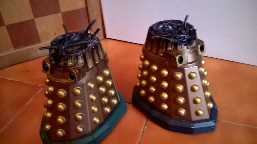 Custom Destroyed Dalek Thays