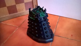 Custom Destroyed Dalek Sec