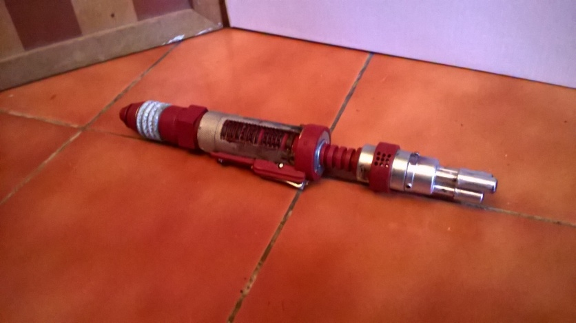 Custom Red Laser Screwdriver Extended
