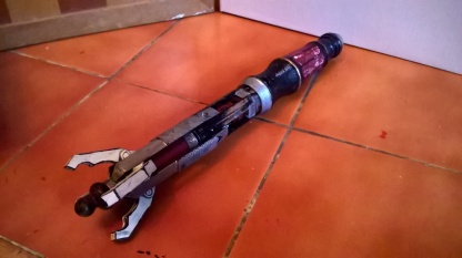 Custom Evil Sonic Screwdriver