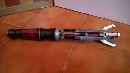 Custom Sonic Screwdriver Extended View