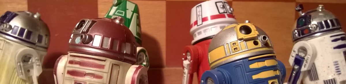 Star Wars Astromech Droid Collection – Part 1