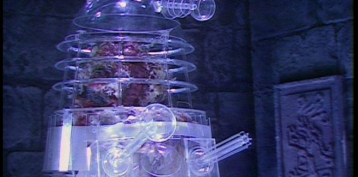 revelation of the daleks glass dalek
