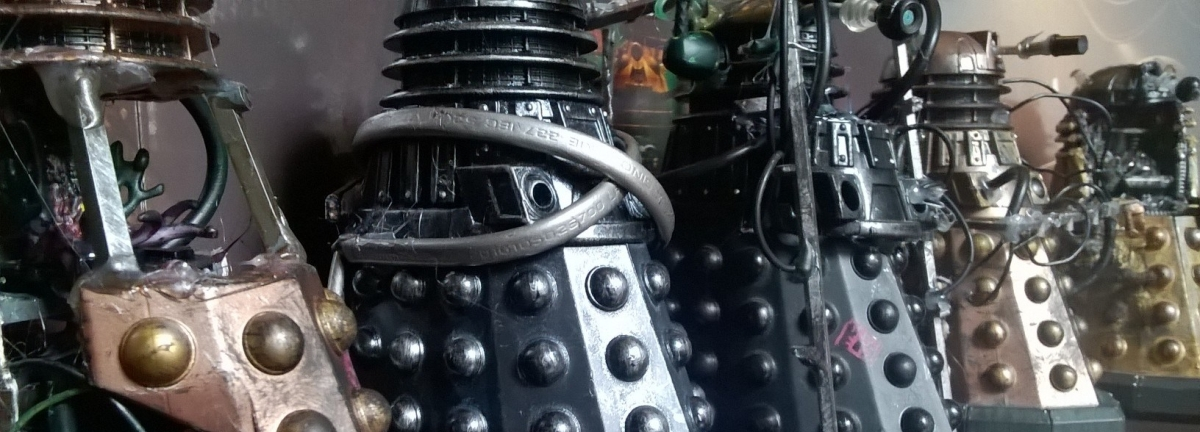 New Series Dalek Customs Collection Tour – Intensive Care Asylum Daleks Part 1