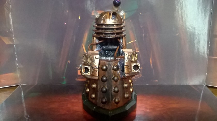 Custom Asylum of the Daleks figure using the Mutant Reveal as a base