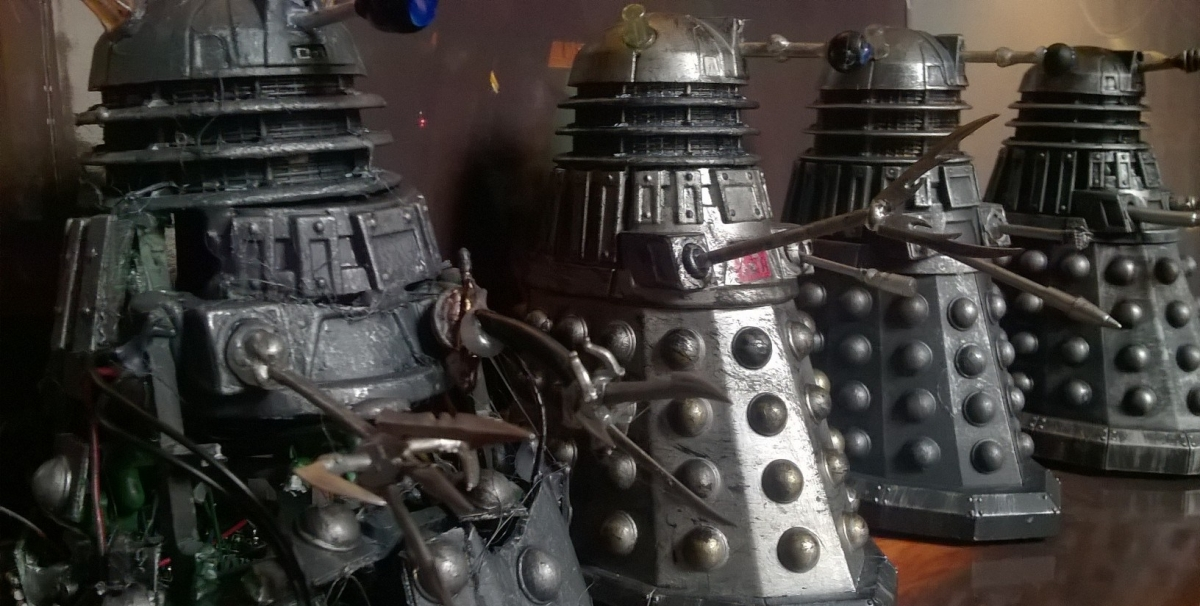 New Series Dalek Customs Collection Tour – Savage Dalek Asylum Customs