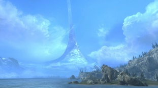 Forge World Halo Ring Skybox