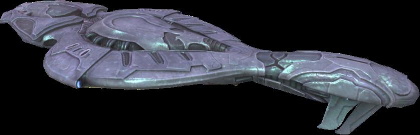 A CCS-class battlecruiser from Halo