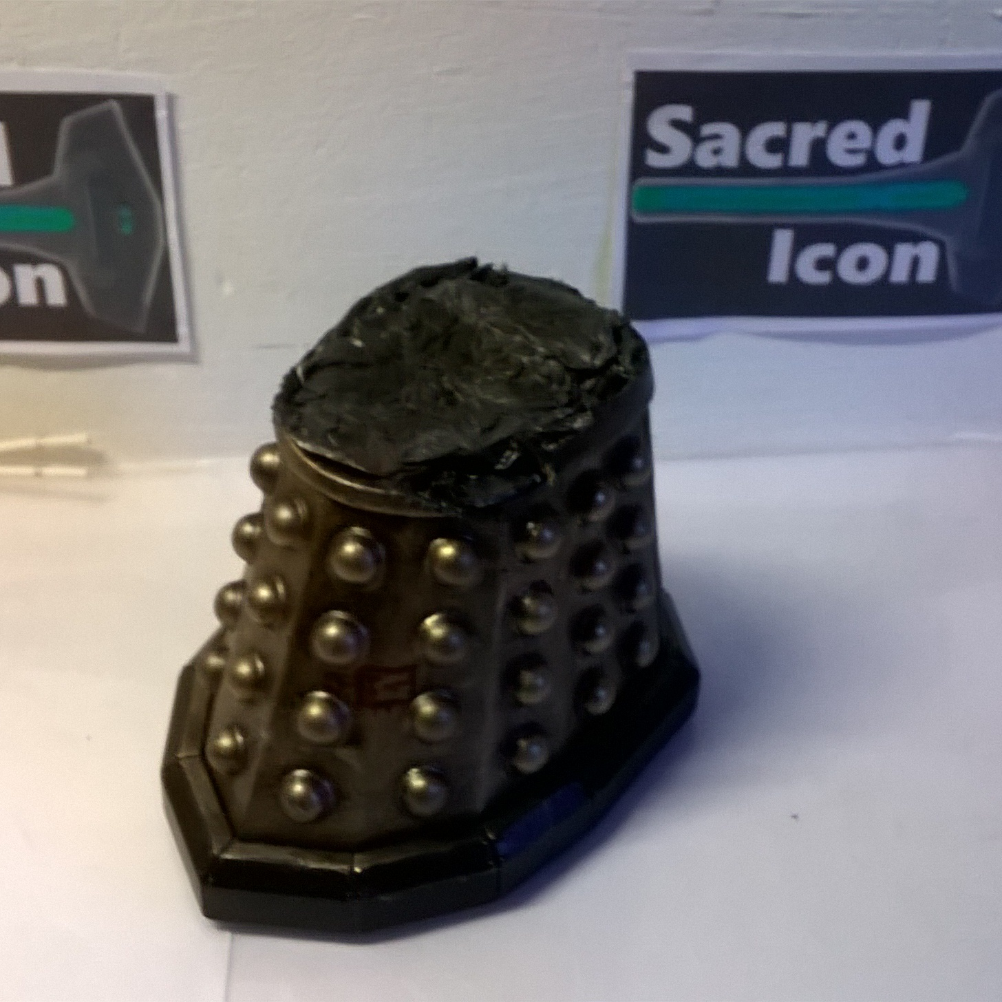 Custom Destroyed Time War Dalek with no top section