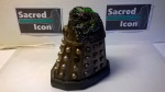 Custom Destroyed Time War Dalek showing the revealed mutant hiding inside