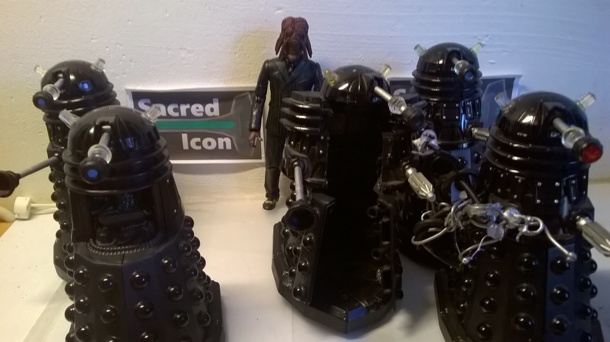 Custom Dalek Sec Figures