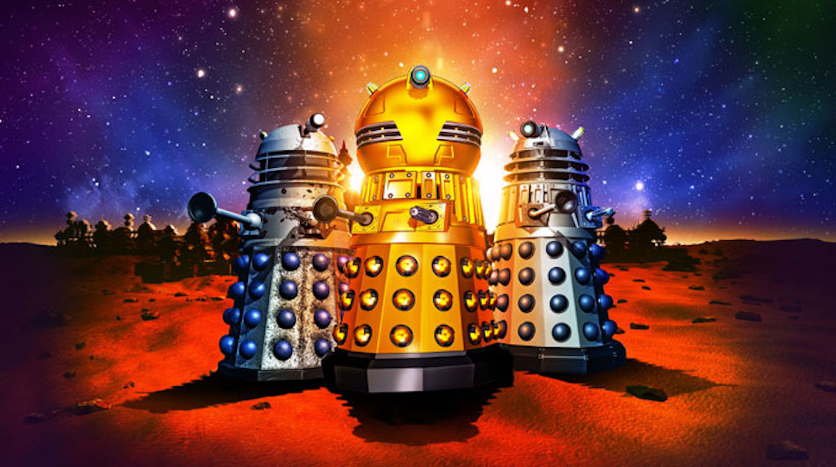 Daleks! The Animated Series Announced as part of Time Lord Victorious